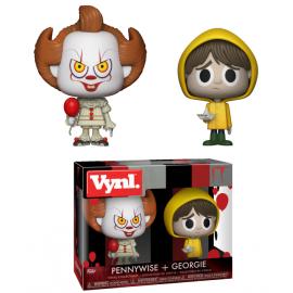 "Vynl. 4"" - It - Pennywise & Georgie"