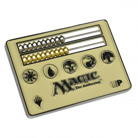 MTG White Abacus Life counter card size
