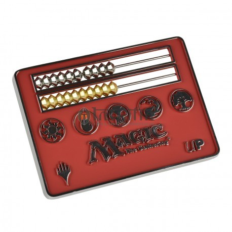MTG Red Abacus Life counter card size