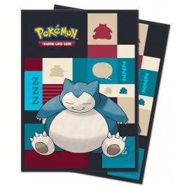 Pokémon Snorlax Sleeves Display (10)