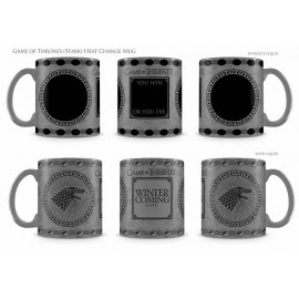 Game of Thrones - Stark- Heat Change Mug
