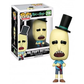 Animation 206 POP - Rick and Morty - Mr Poopy Damaged EXC